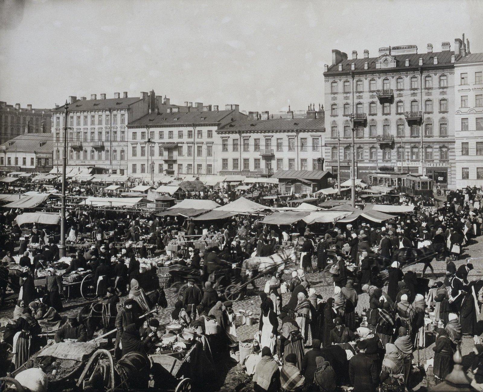 1914. Покровский рынок. 18 марта