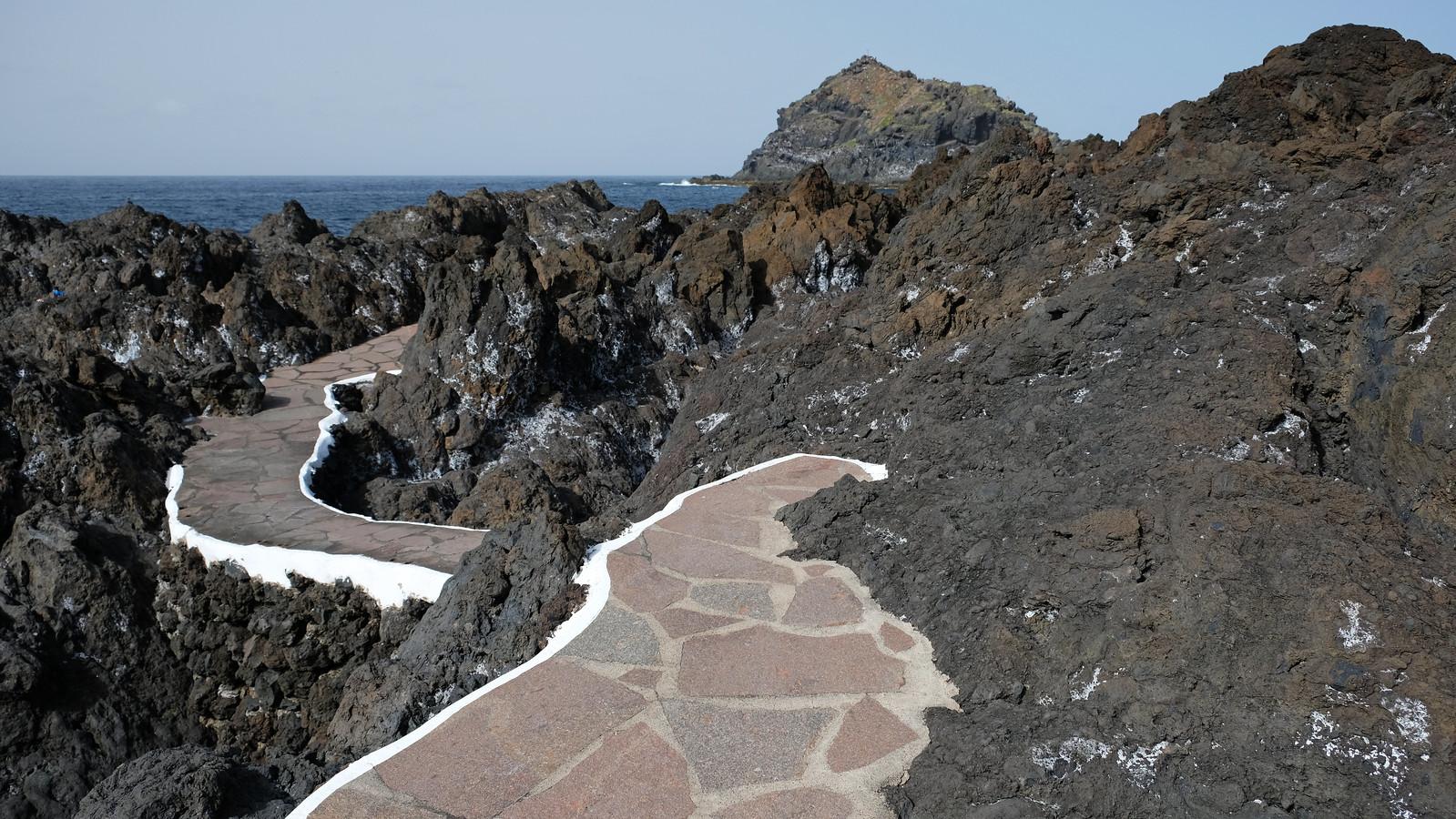 El Caletón de Garachico, Tenerife, Canary Islands, Spain