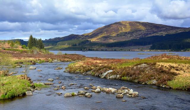 Loch Doon, Galloway Forrest