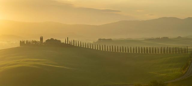 Poggio Covili at Sunrise - Tuscany