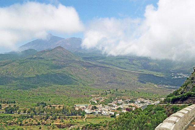 Espagne, les Canaries l'ile de Ténérif, le pic du Teid