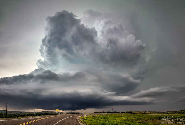 17 May 2019 — East of Fort Stockton, Texas — Supercell structure