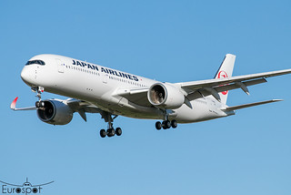 F-WZNO / JA09XJ Airbus A350-941 Japan Airlines s/n 497 * Toulouse Blagnac 2021 *