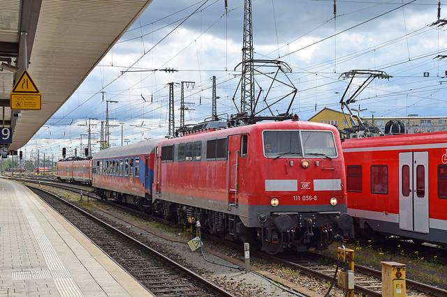 111 056-8 Nürnberg Hbf 1 15.05.21