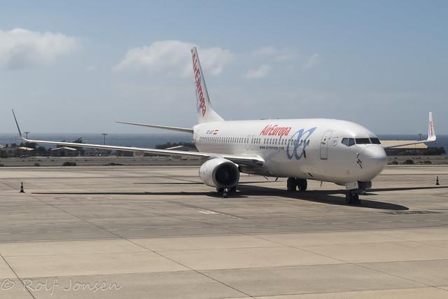 EC-LUT Boeing 737-800 Air Europa Las Palmas Airport GCLP 20.05-20