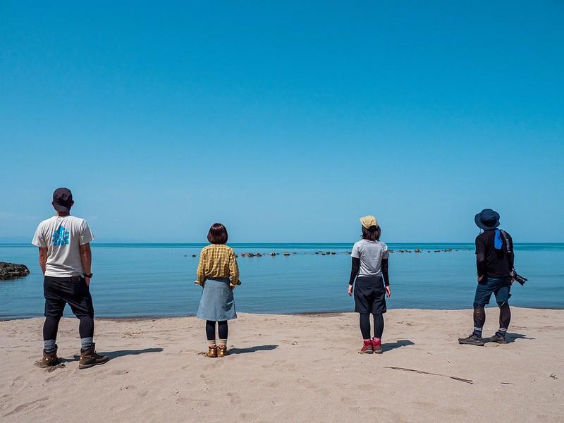 角田山の集合写真