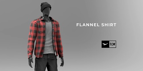 flow . Flannel Shirt