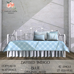 Bloom! Originals - Daybed Indigo Blue (PG)AD