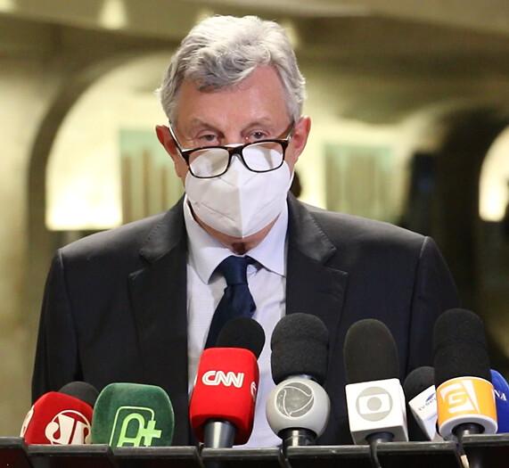 17/05/2021 Coletiva de Imprensa sobre o uso irregular da Hidroxicloroquina em Manaus | Senado Federal
