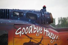 """73+08 """"Goodbye Huey"""" at Brunswick Airport"""
