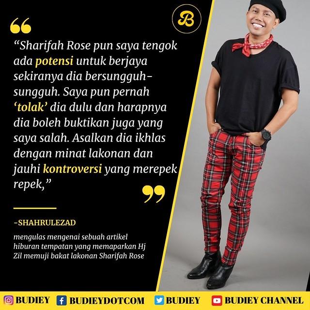 Sharifah Rose Dikritik Berlakon Kayu Hingga Dikutuk Artis Tapi Hj Zil & Shahrulezad Pula 'Back Up'