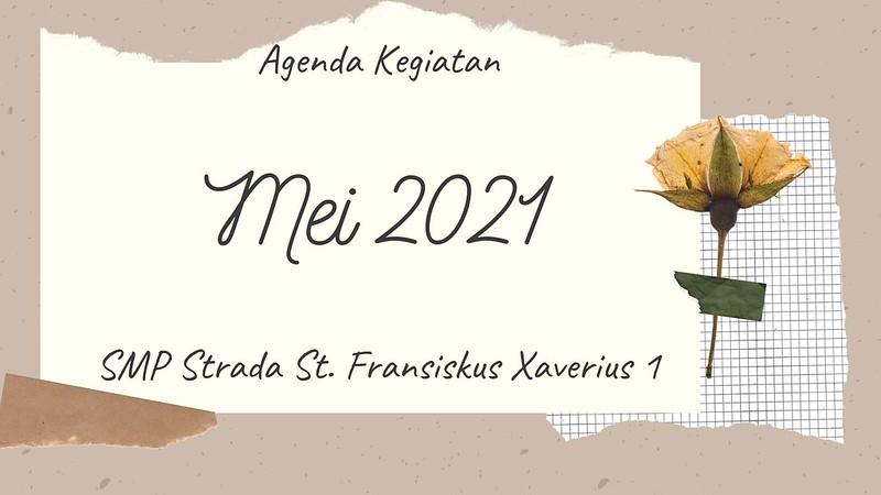 Agenda Kegiatan Bulan Mei 2021