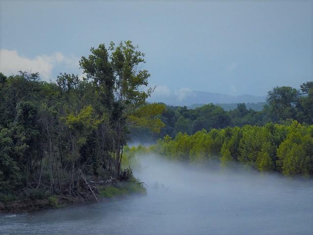 Fog over White River