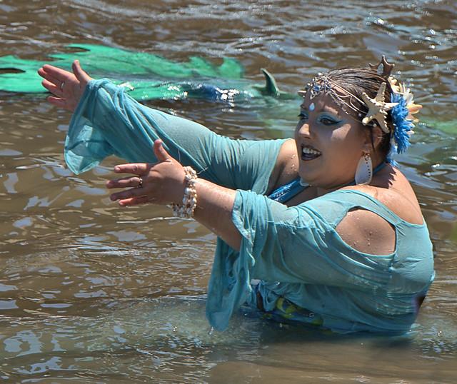 Open Arms Mermaid