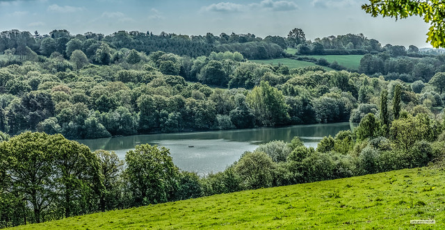 A branch of the Ardingly Reservoir between Balcombe and Ardingly, West Sussex, England.