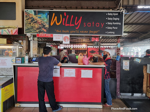willy satay kajang review
