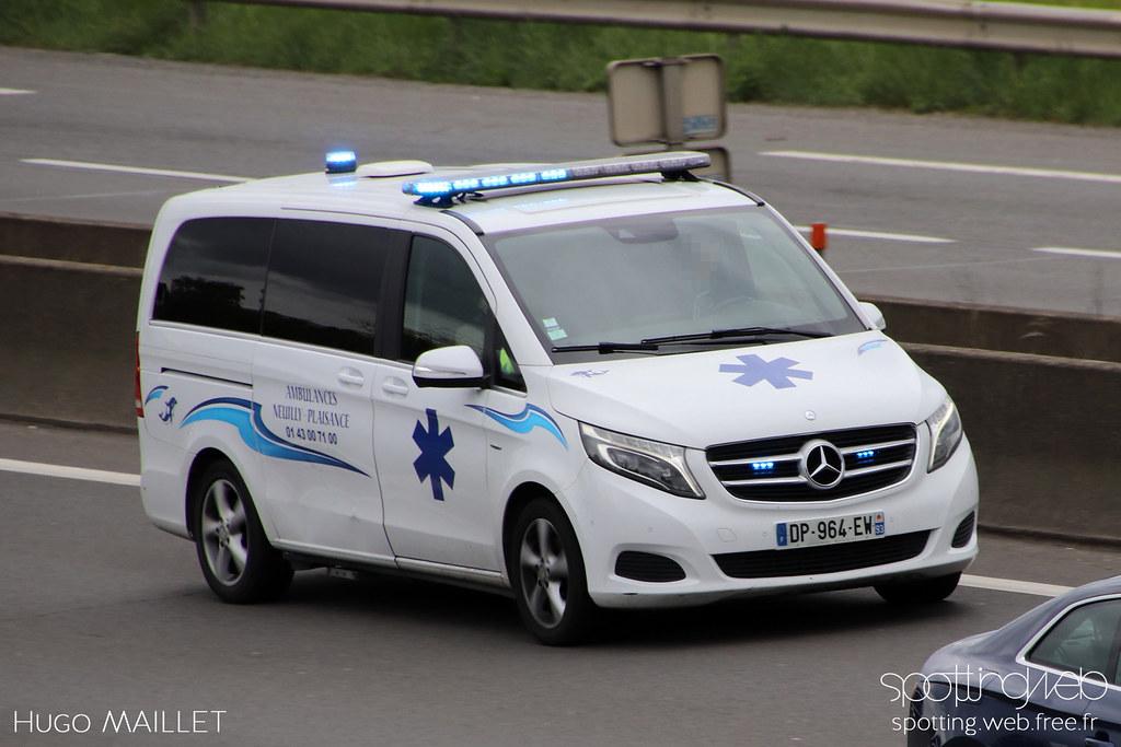 Ambulances Neuilly-Plaisance | Mercedes Vito