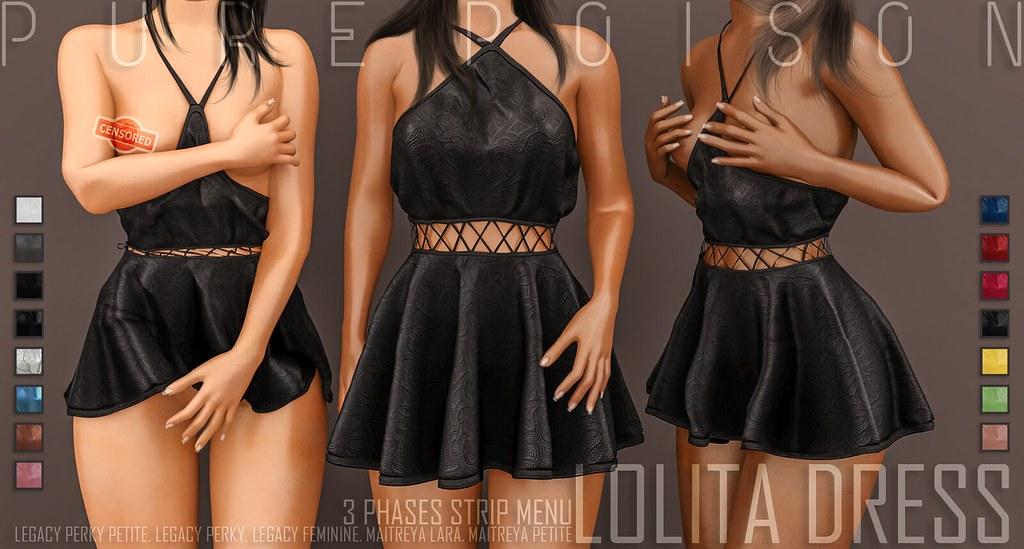 Pure Poison – Lolita Dress – Kustom9