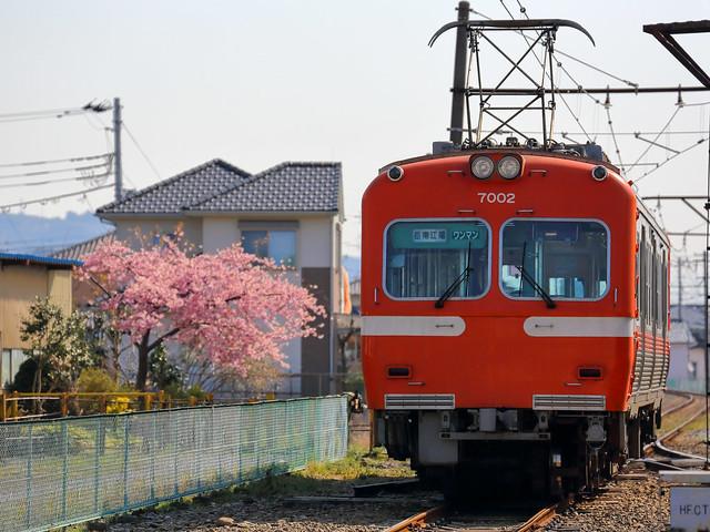 岳南電車, モハ7002, 須津駅