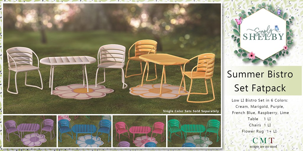 Simply Shelby Summer Bistro Fatpack Set