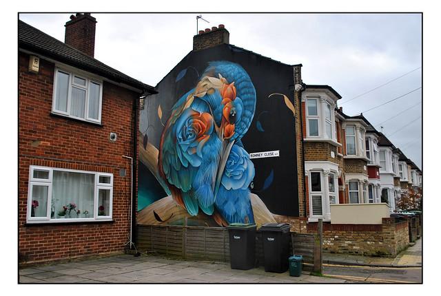 LONDON STREET ART by CURTIS HYLTON