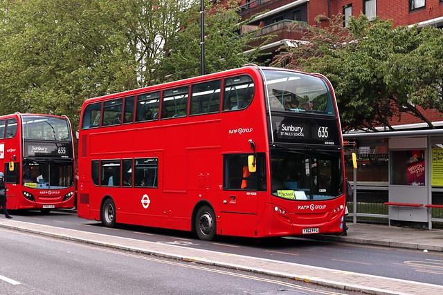 Route 635, London United, ADH45028, YX62FFG