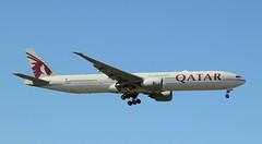 Qatar Airways, A7-BAS, MSN 41062,Boeing 777-3DZ ER, 26.04.2021, FRA-EDDF, Frankfurt