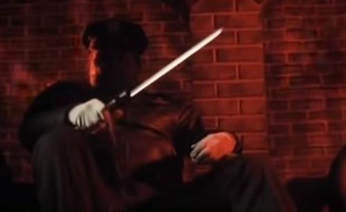 ManiacCop2CordellNightStickKnife