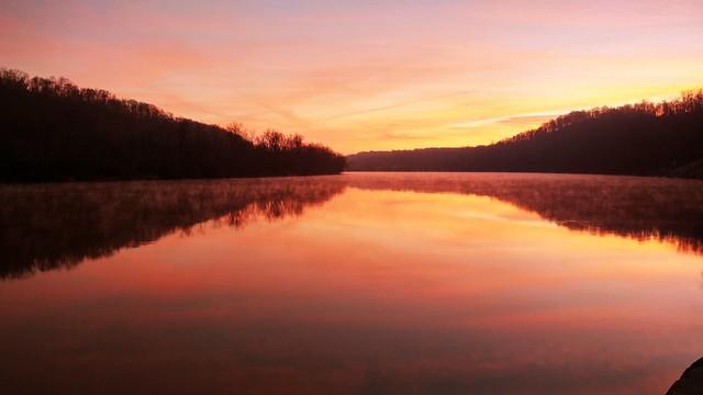 Sunset on the Mon