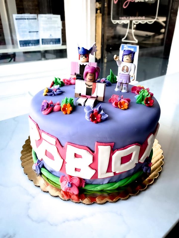 Roblox Cake by Angelina's Bake Shop