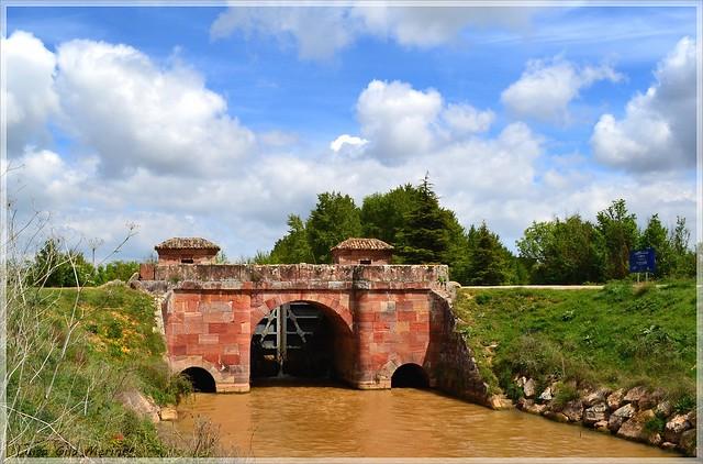 Retención de San Andrés, la 2ª Canal de Castilla en el Ramal Norte