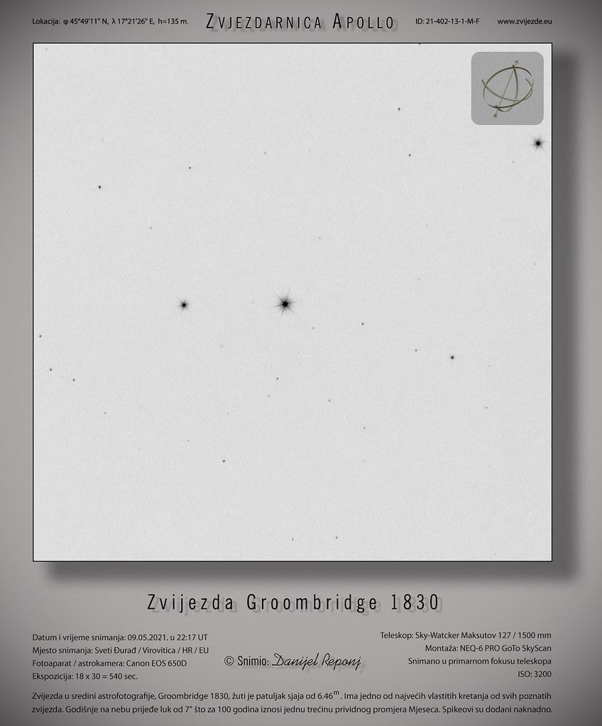 Zvijezda Groombridge 1830,