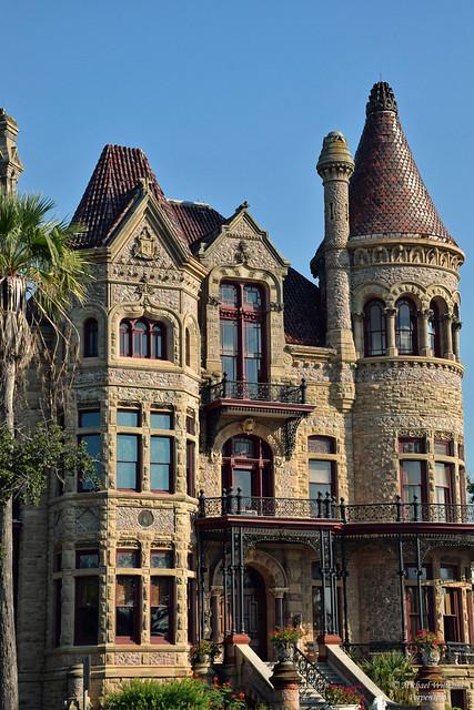 The Bishop's Palace, Galveston Island, Texas, USA