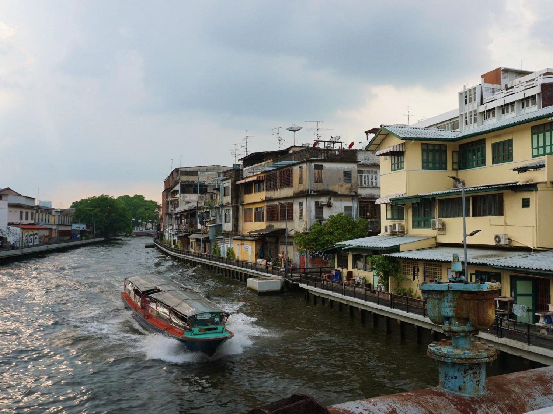 Bangkok riverside homes