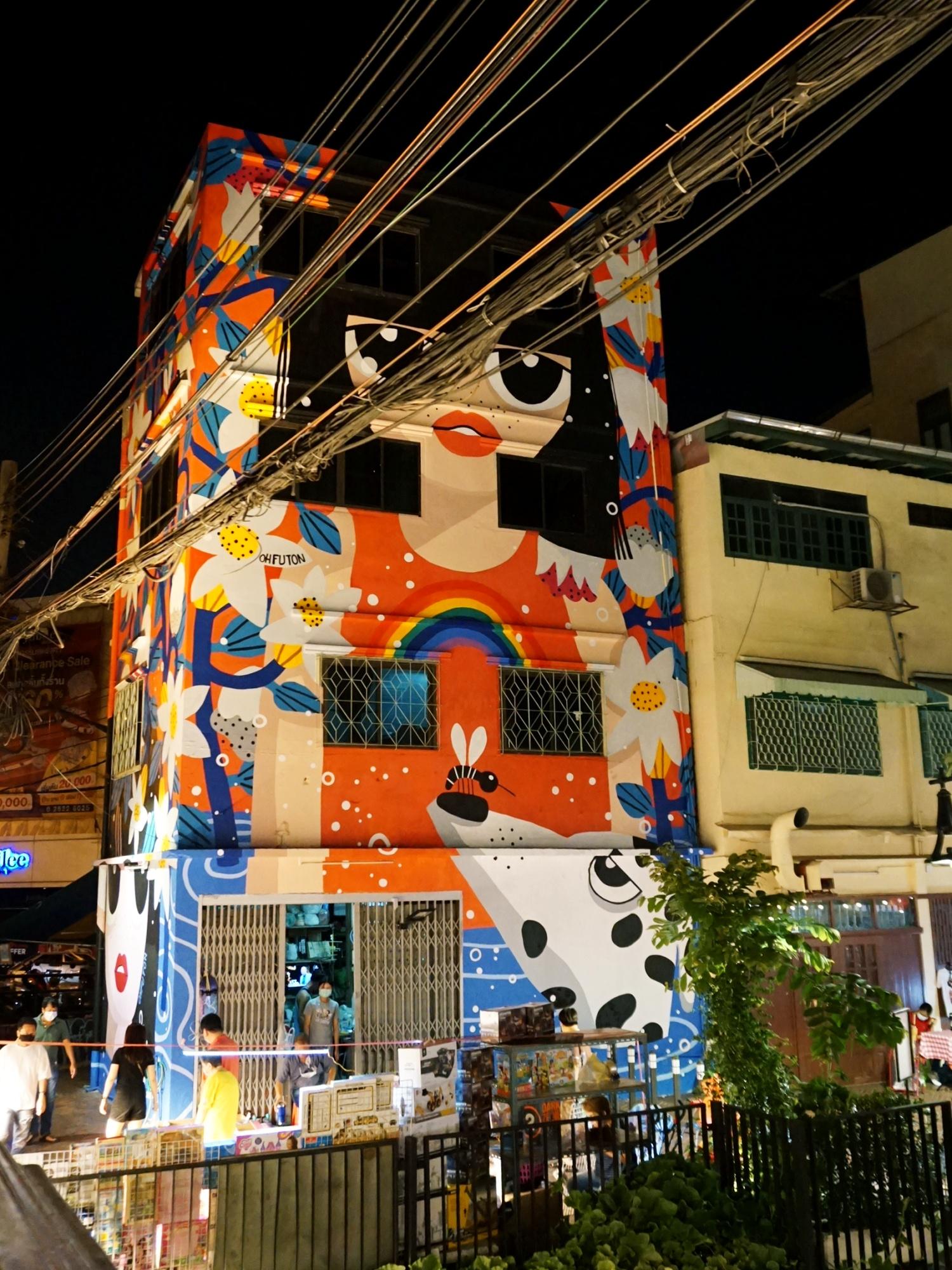 Ong Ang Walking Street Art