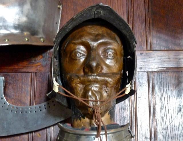 Charles I death mask