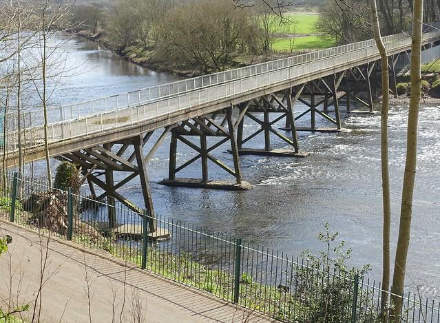 Doomed old Tram Bridge at Preston