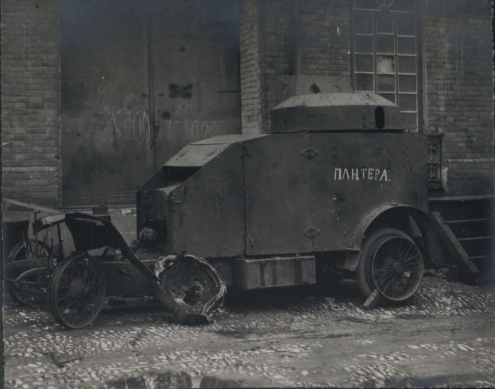 332. 1919. Бронеавтомобиль Peugeot M1915 «Пантера»