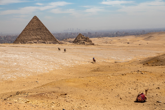 Armchair Traveling - The Great Pyramid of Menkaure, Giza, Egypt