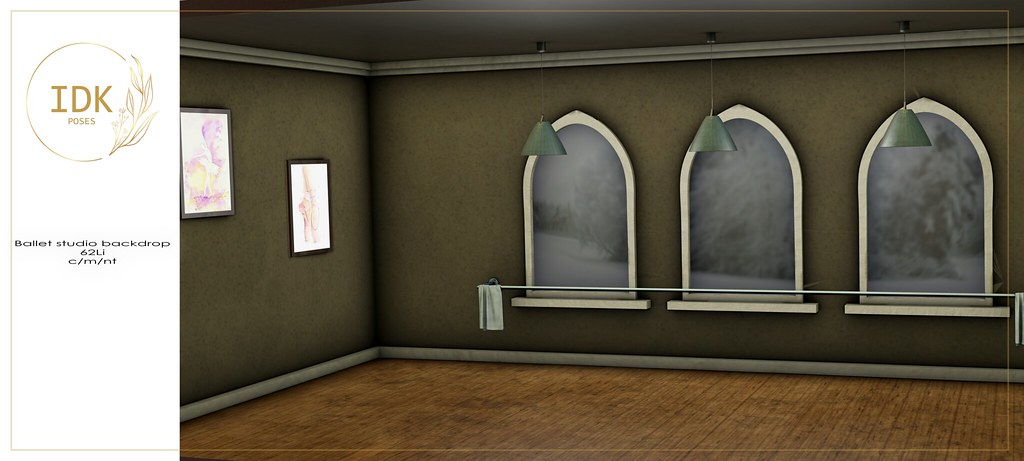 IDK Ballet studio backdrop