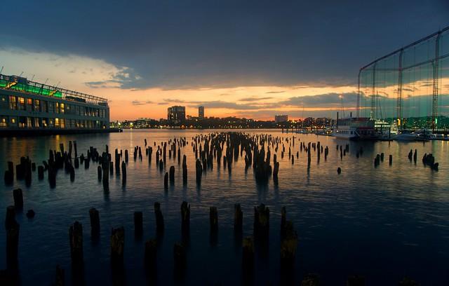 Sunset (meta) - Chelsea Piers, New York City