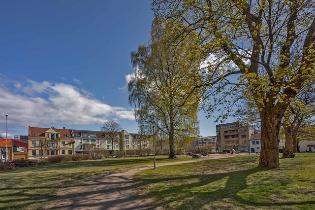 Stener Heyerdals park, Kristiansand, Norway.