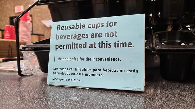 No reusable cups allowed at Wawa