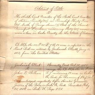 2021-05-18. Elliott, Zachariah 1852 to John Willson 1853