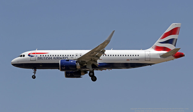 G-TTNJ LMML 17-05-2021 British Airways Airbus A320-251N CN 8772