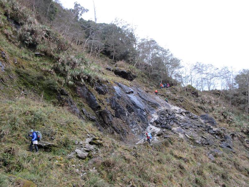 100 Peaks in Taiwan: Mt. Liushun and Qicai Lake, 100 km hike, day 3. Photo by Chang Binfu 張斌甫