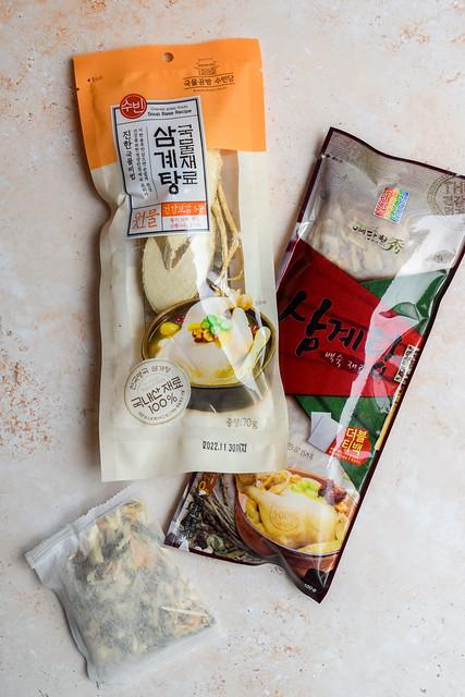 Samgyetang Soup Kits