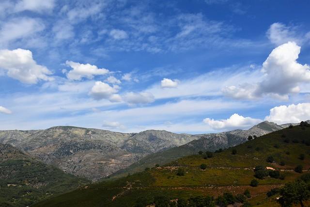 Paisaje con nubes / landscape with clouds