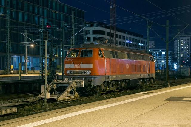 DB 218 833 Stuttgart Hbf