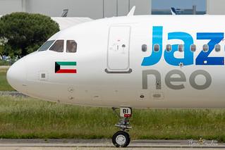 F-WWBI // 9K-CBI JAZEERA AIRWAYS AIRBUS A320NEO msn 10156